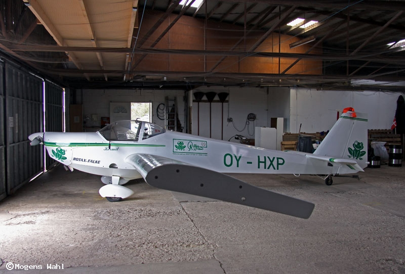Danish register of civil aircraft - OY-HXP - Scheibe SF ...