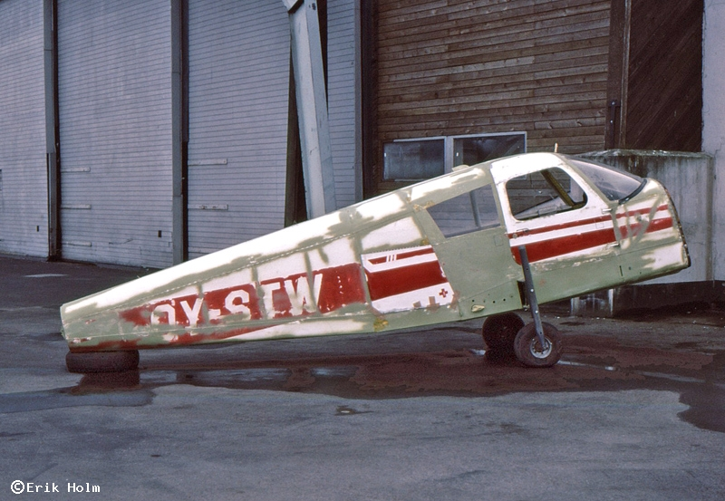 Danish register of civil aircraft - OY-STW - Piper PA-28-235