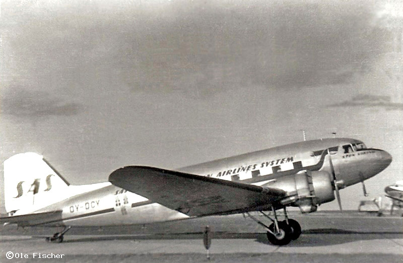 Danish register of civil aircraft - OY-DCY - Douglas DC-3D (C-117)