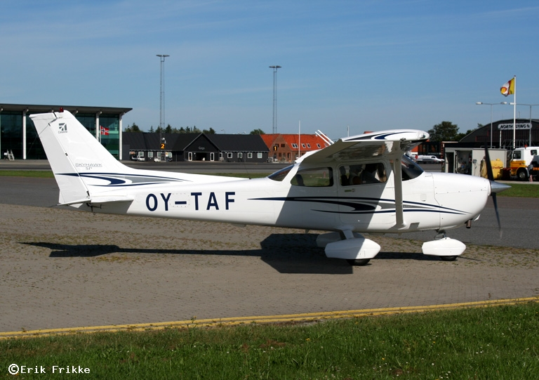 Danish register of civil aircraft - OY-TAF - Cessna 172S